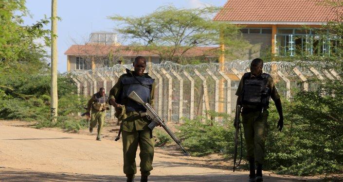 Militari in Kenya