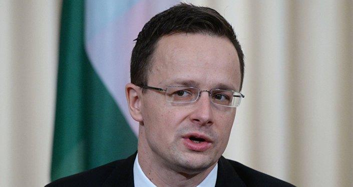 Ministro degli Esteri ungherese Peter Szijjártó