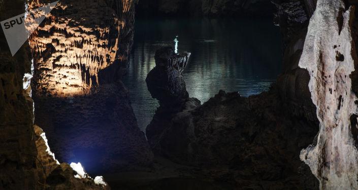 Una grotta in Vietnam