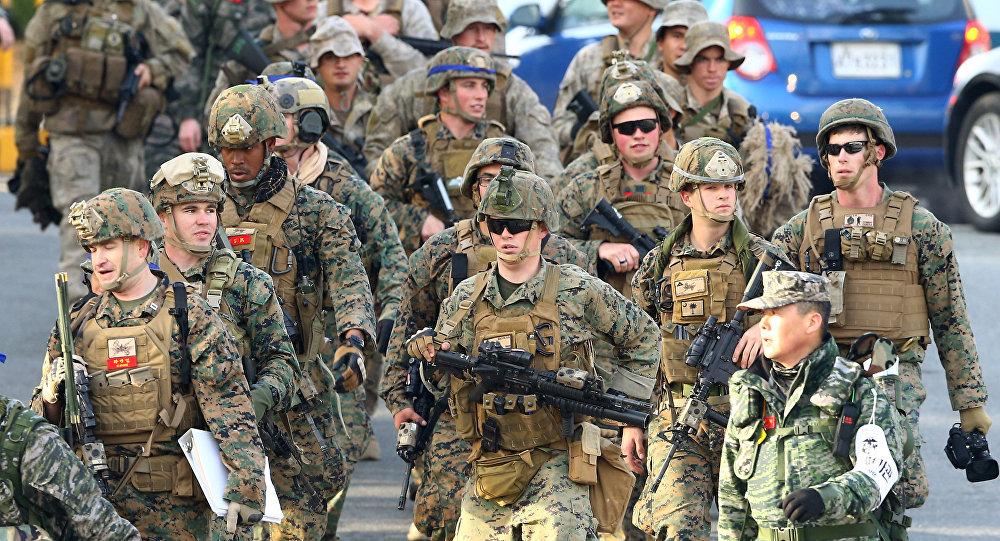 Militari americani in Corea del Sud (foto d'archivio)