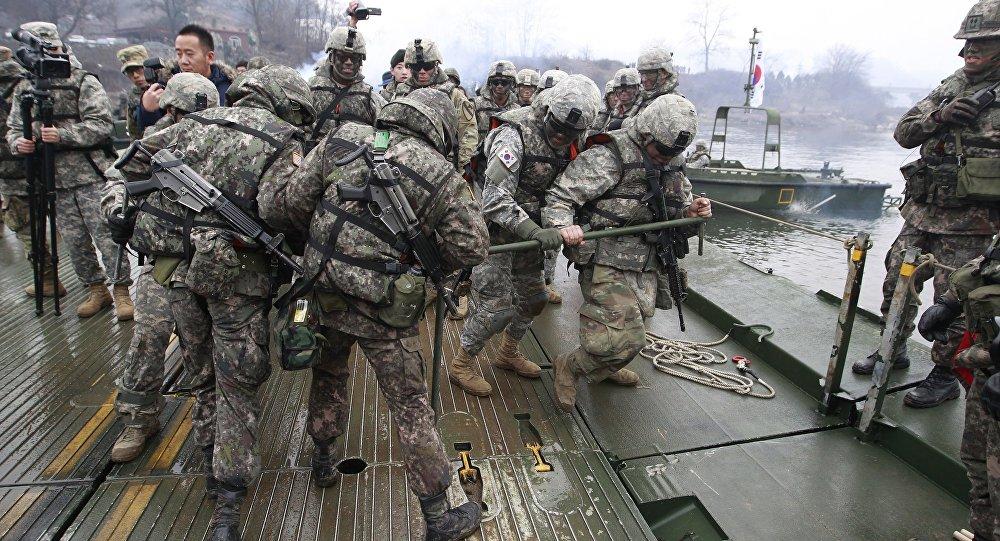 Soldati americani in Corea del Sud (foto d'archivio)