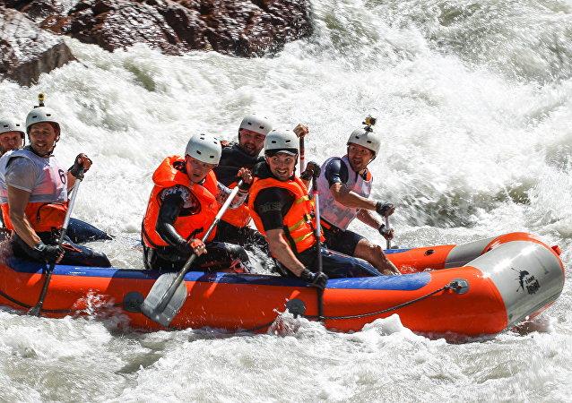 Coppa di Russia di rafting in Adighezia