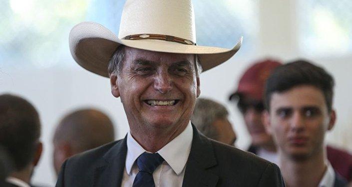 Il presidente eletto brasiliano Jair Bolsonaro
