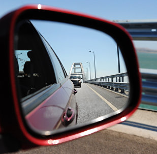 Il Ponte di Crimea - vista artistica