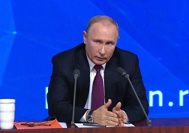La conferenza stampa di fine anno di Vladimir Putin