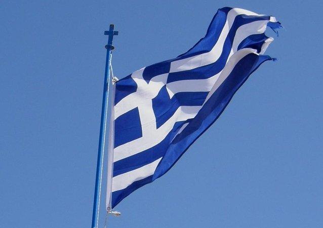 La bandiera greca