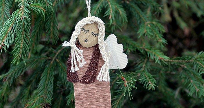 Addobbo natalizio - figura metaforica