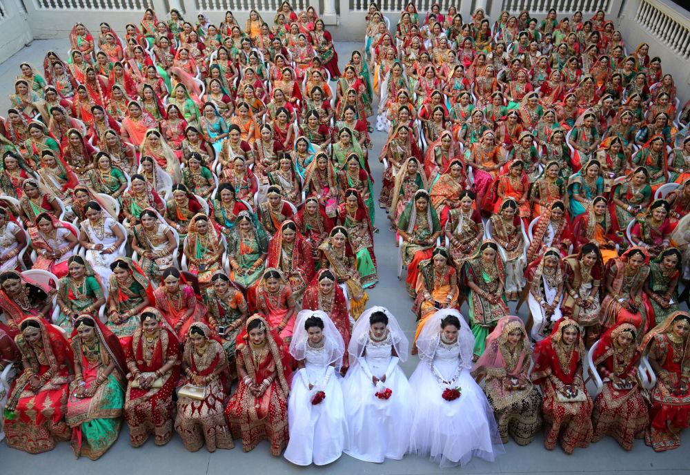 Matrimonio da record in India