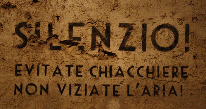 Il bunker antiatomico per il governo italiano.