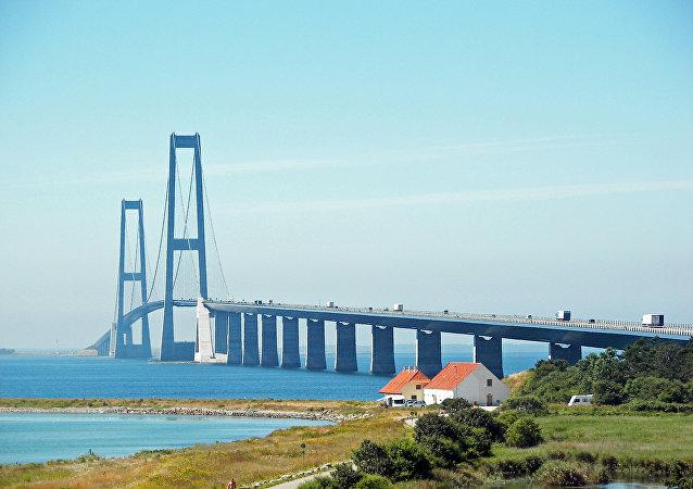 Il Ponte del Grande Belt, Danimarca