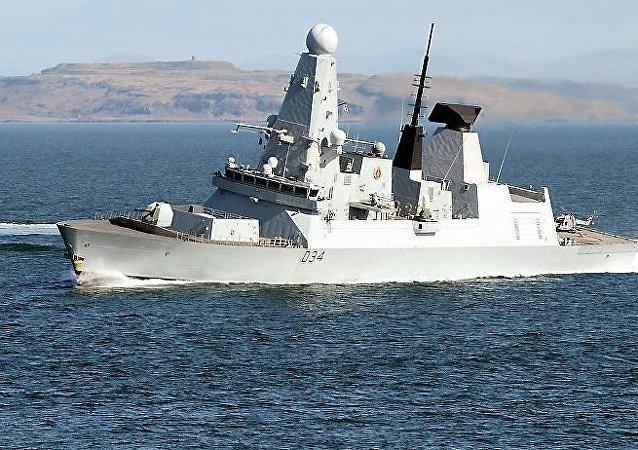 Nave delle forze navali britanniche (foto d'archivio)