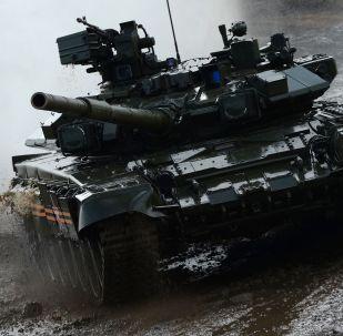 Il carro armato T-90A