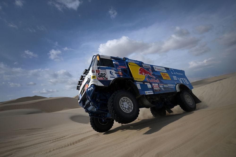 La prima tappa del rally Dakar.