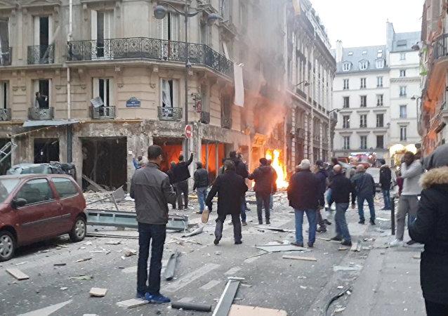 L'esplosione di gas a Parigi