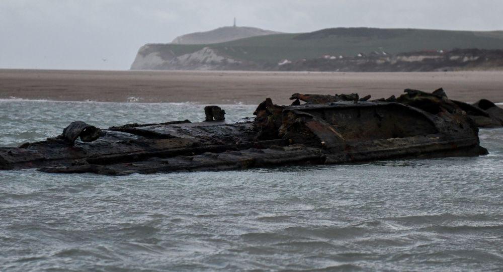 Non lontano dalla città di Wissant, nel nord della Francia, sono stati scoperti i resti di un sottomarino tedesco UC-61 della Prima Guerra Mondiale