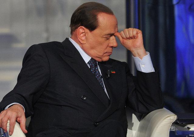 L'ex premier italiano Silvio Berlusconi