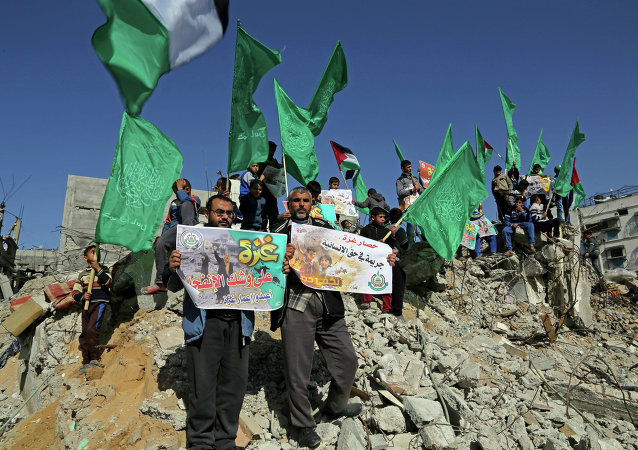 Sostenitori di Hamas
