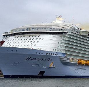 Harmony of the Seas costruita nei cantieri Atlantique
