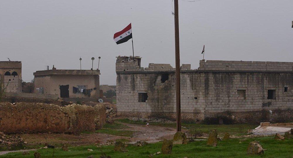Syrian Armed Forces Deployed Along Manbij Border, Aleppo Province, 30 December, 2018