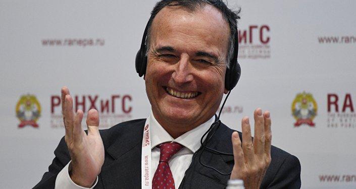 Franco Frattini al X Forum Gaidar