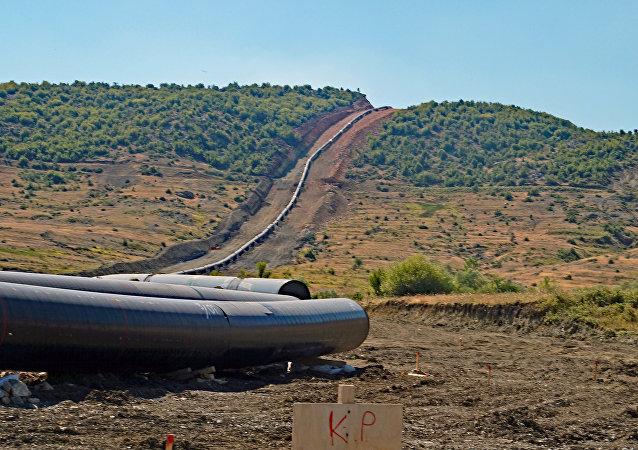 Costruzione del gasdotto TAP