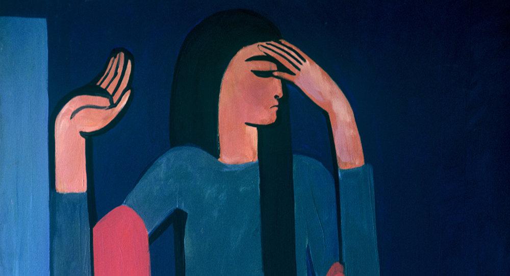 Il quadro del pittore armeno Мinas Avetisyan, Tamila