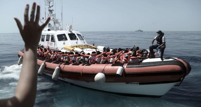 Migranti nel Mar Mediterraneo