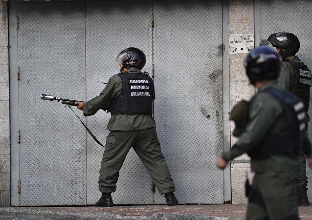 Rivolta militare a Caracas