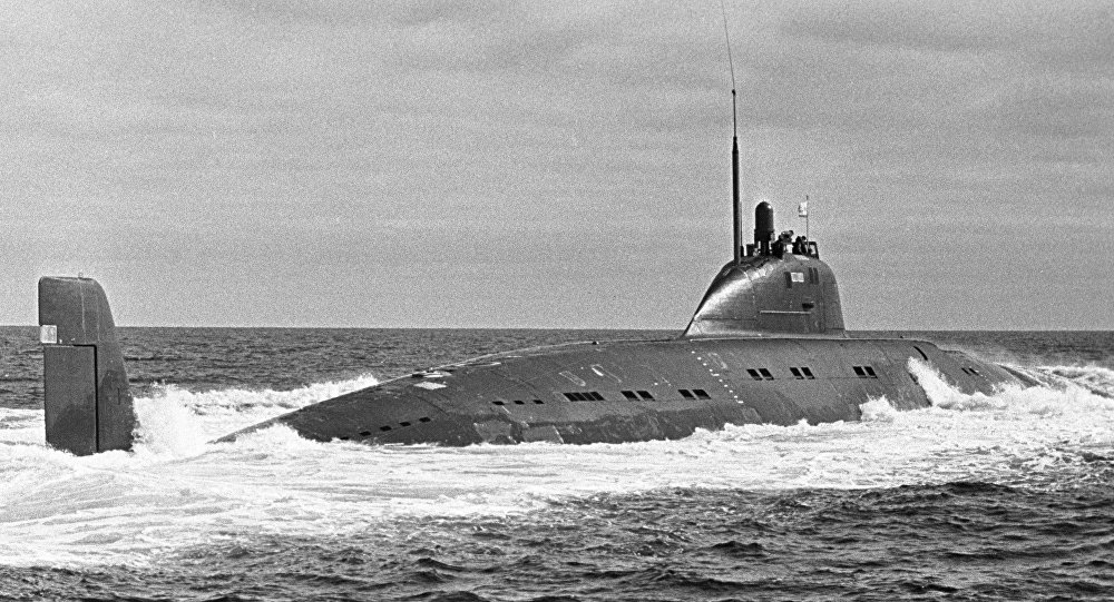 Sottomarino 50 anni all'Urss