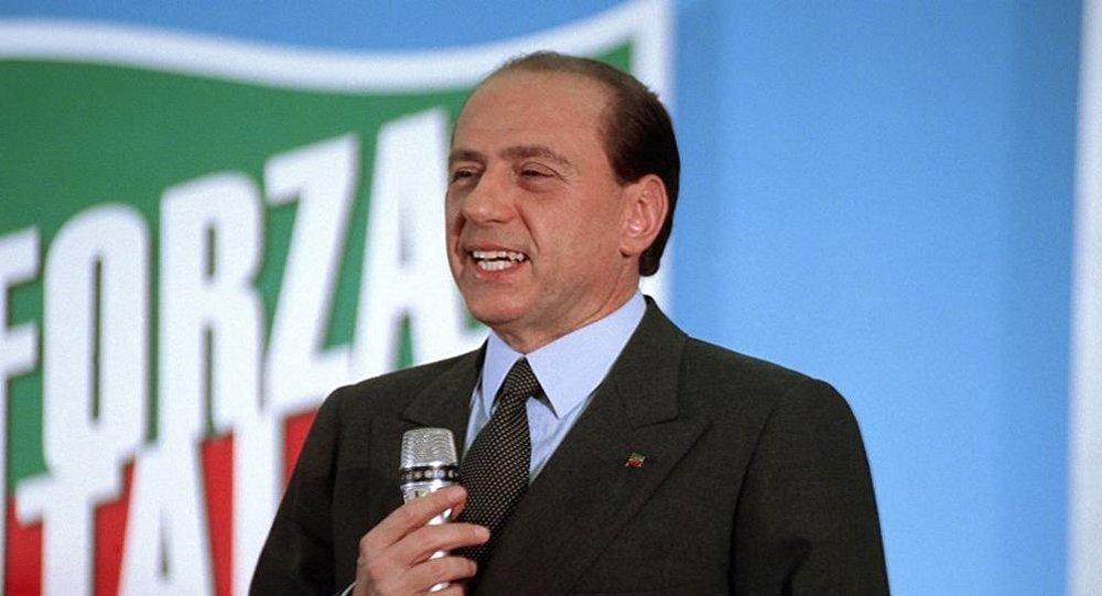 Silvio Berlusconi nel maggio 1994.