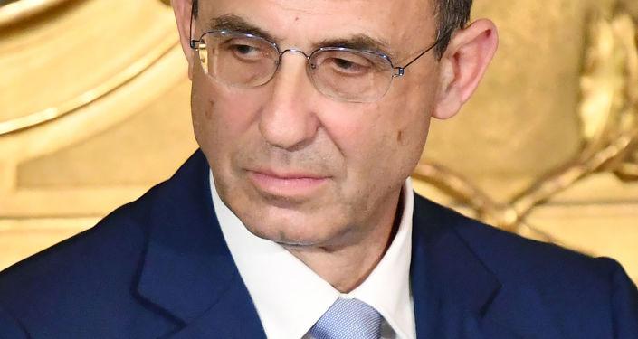 Ministro Ambiente italiano Sergio Costa