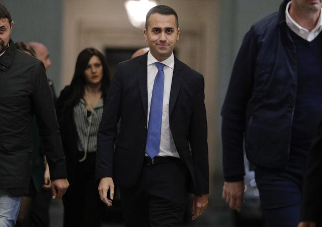 Il vice premier italiano Luigi Di Maio