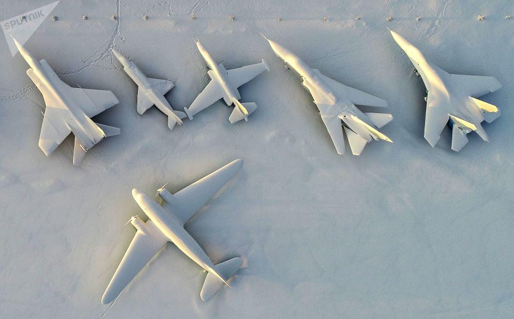 Il museo dell'aviazione della Flotta del Nord