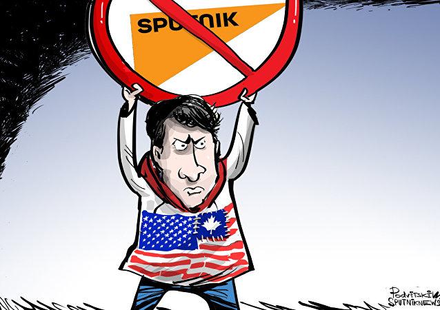 Trudeau non fa passare Sputnik