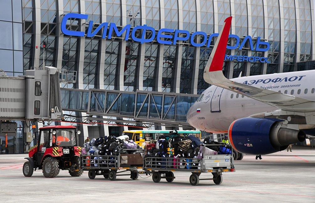 Il nuovo aeroporto internazionale di Simferopoli, inaugurato nel mese di aprile del 2018