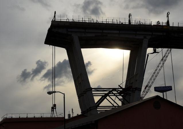 La ricostruzione del ponte Morandi