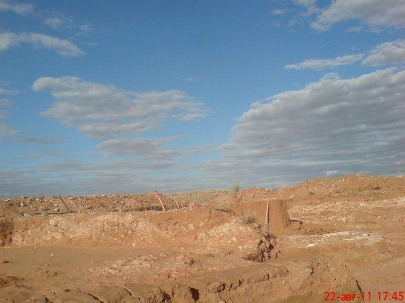 I scavi sul territorio dell'insediamento Selitrenny
