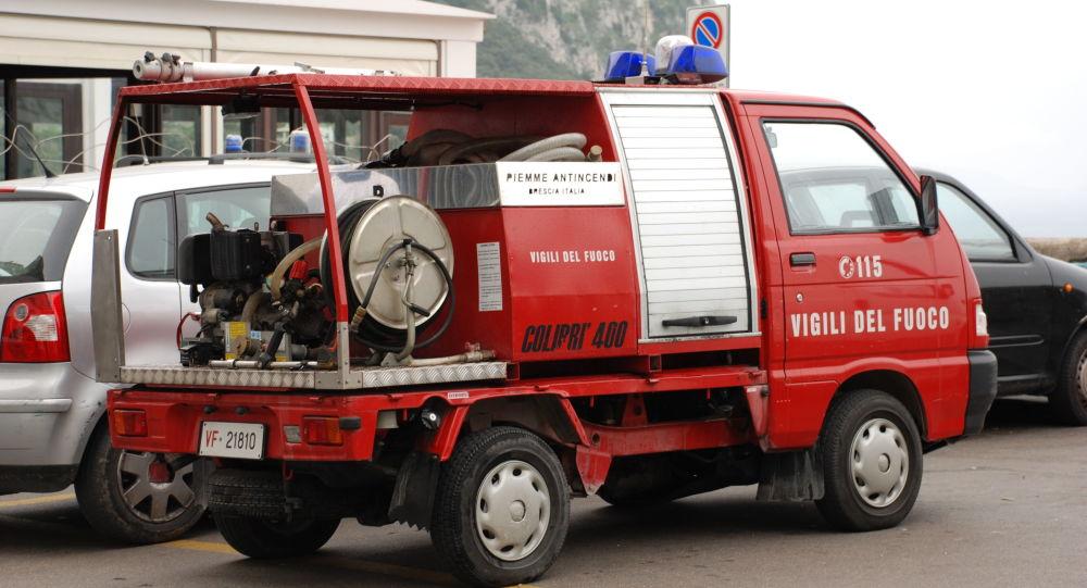 Auto dei Vigili del Fuoco