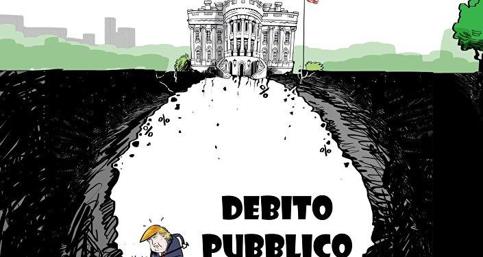 Nuovo record storico per il debito pubblico statunitense
