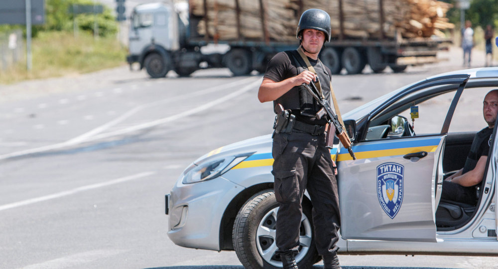 Guardia Nazionale in Ucraina occidentale
