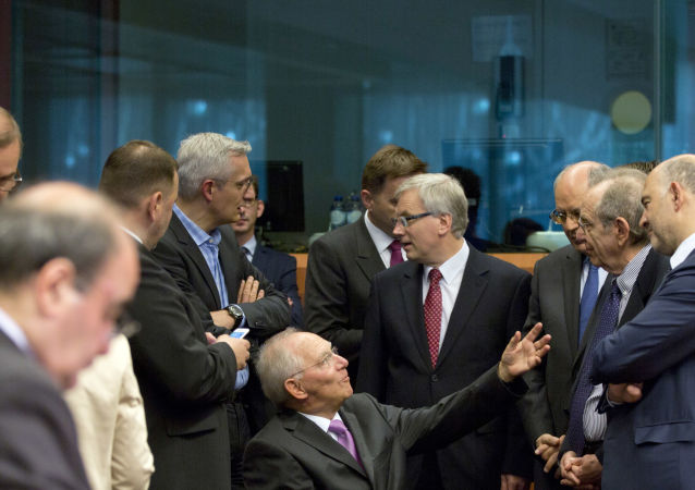 Eurogruppo a Bruxelles