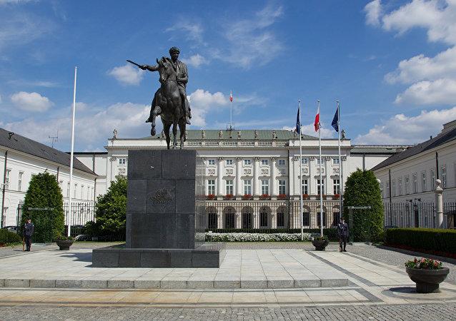 Palazzo presidenziale a Varsavia