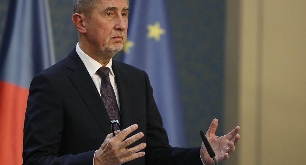 Il primo ministro ceco Andrej Babis