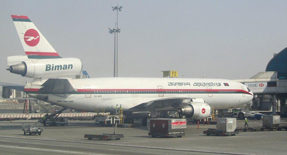 Aereo della Biman Bangladesh Airlines