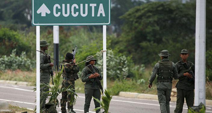 Soldati venezuelani (foto d'archivio)