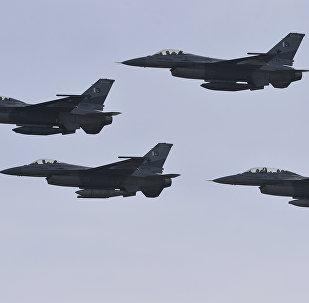 Pakistani F-16 fighter jets (File)