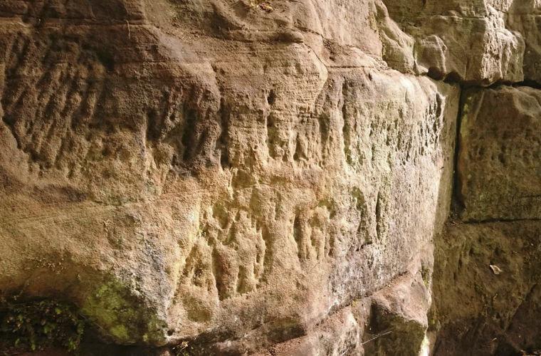 I disegni sul vallo di Adriano