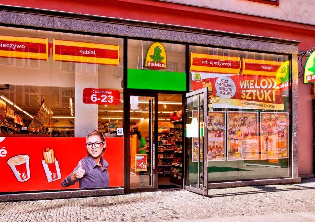 Un negozio in Polonia