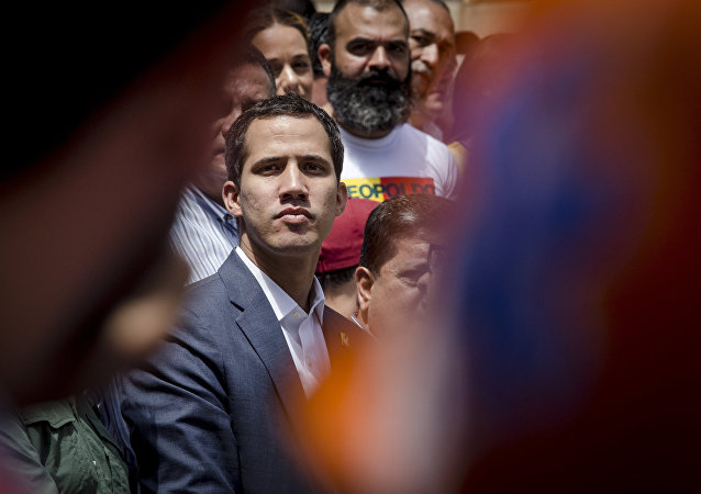 Self-proclaimed Venezuela's interim president Juan Guaido