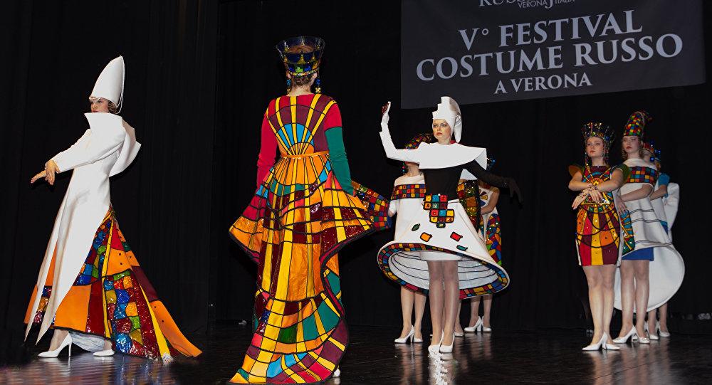 Festival Costume Russo a  Verona